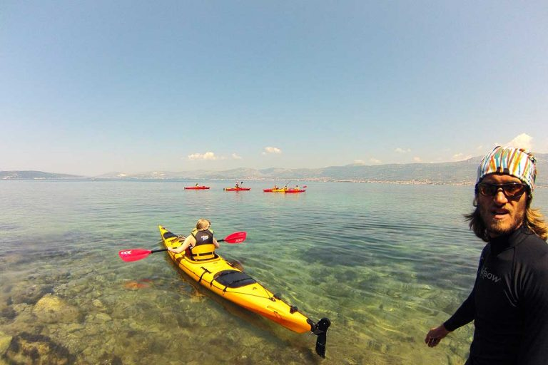 Sea kayaking Marjan, Split