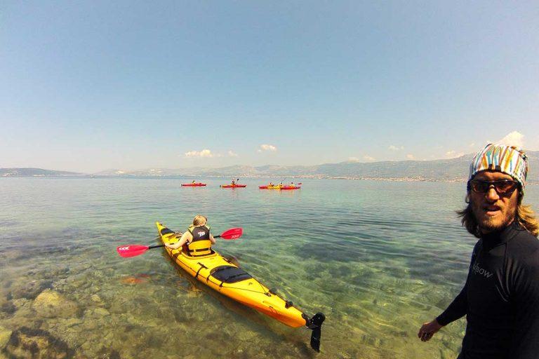 Sea kayaking Marjan, Split