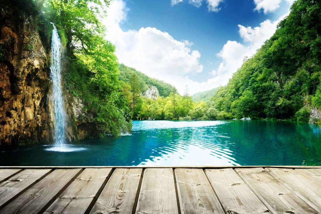Fairytale view - Plitvice lakes national park