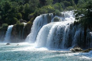 Main waterfall on Krka