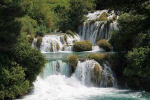 Krka cascades
