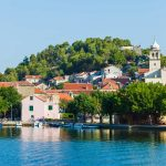 Skradin - view from boat