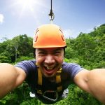 selfie-on-the-zipline-omis-cetina-canyon