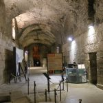 Exhibit inside Diocletian's cellars