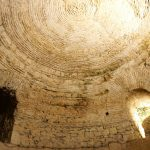 Diocletian's basements ceiling