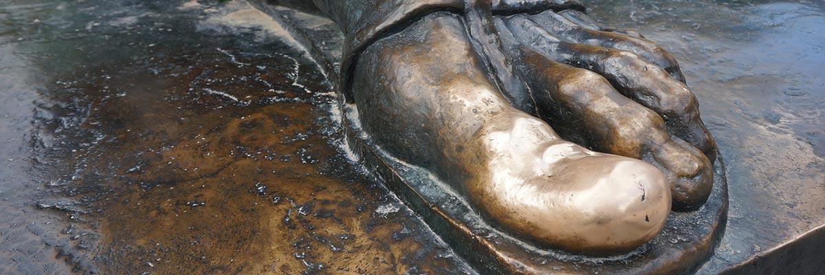 Statue of Gregory Nin, Split Croatia