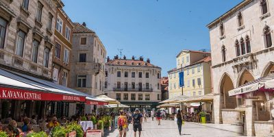 People's square Split Croatia