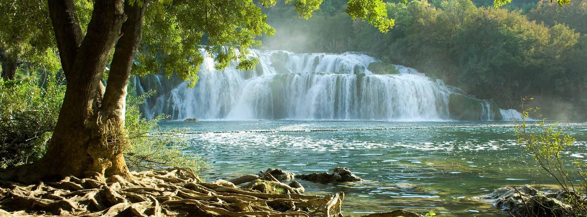 Krka National Park, Skradinski Buk waterfalls