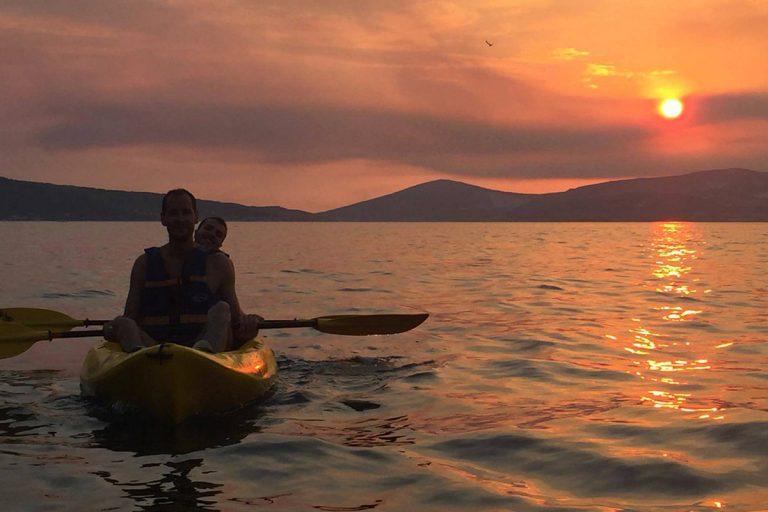 SeaKayakingTourSplit-sunset