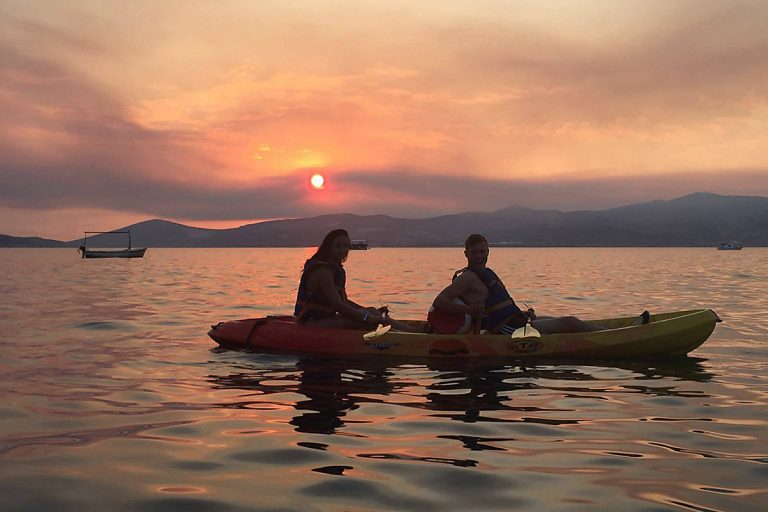 SeaKayakingTourSplit-sunset2