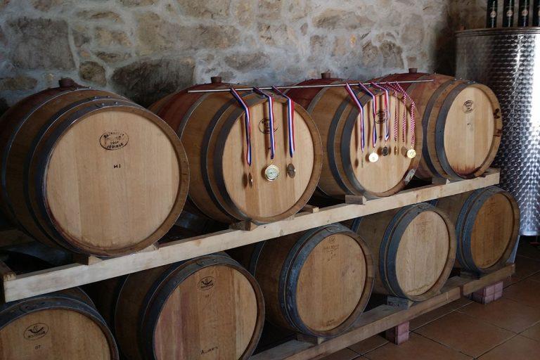 ZinfandelWineBarrels-awardwinners-winetoursplitcroatia