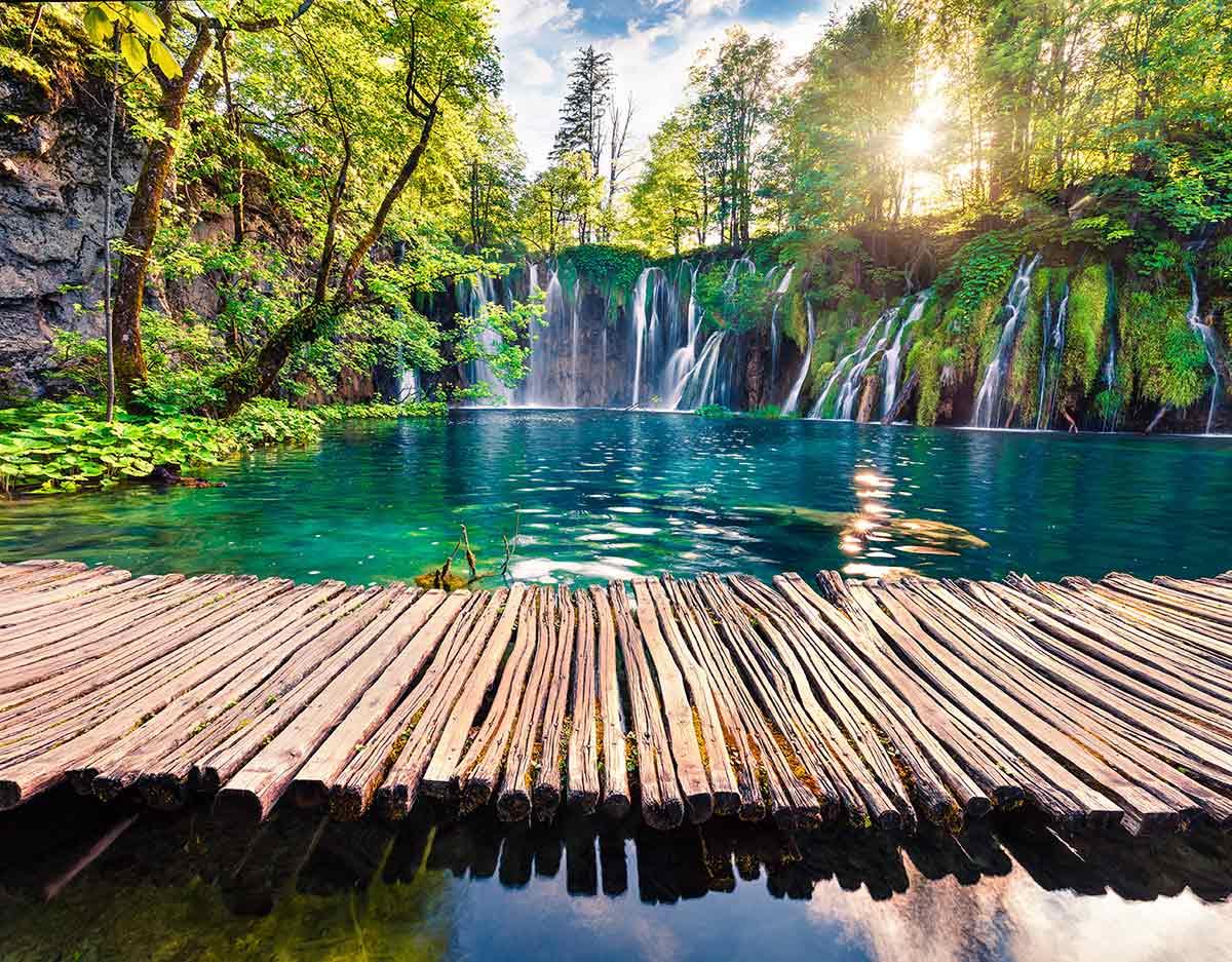 Economy Tour to Plitvice Lakes from Split