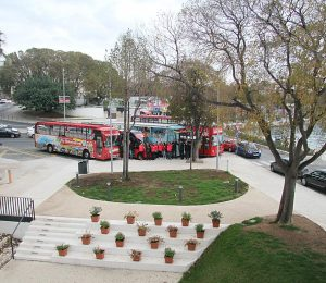 Bus tour Split, Klis, Salona and Trogir. Hop on Hopp off bus tour