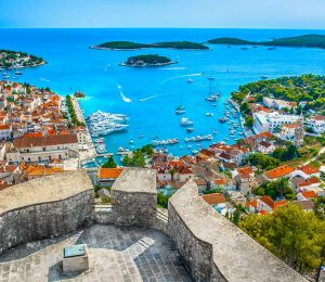 view-on-Hvar-Fortica-Spanish-fortress