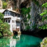House on the river-Mostar