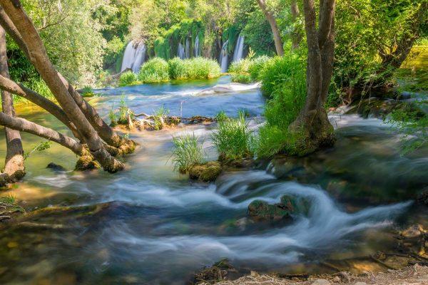 Kravice cascades