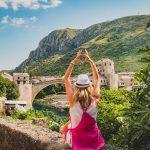 Love Mostar bridge