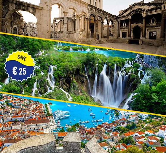 hvar-blue-lagoon-&-trogir-tour-plitvice-tour-and-split-city-tour