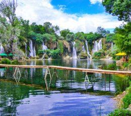park trails in Kravice