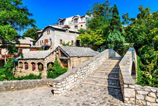 stone street in Pocitelj