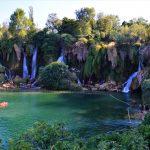 swimming by the waterfalls-Kravice-Bosnia and Herzegovina