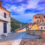 walk the Mostar bridge