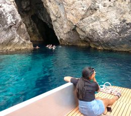 in-front-of-the-monk-seal-cave-bisevo
