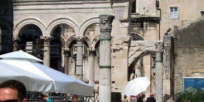 DiocletianPalaceSplitDecumanus-street